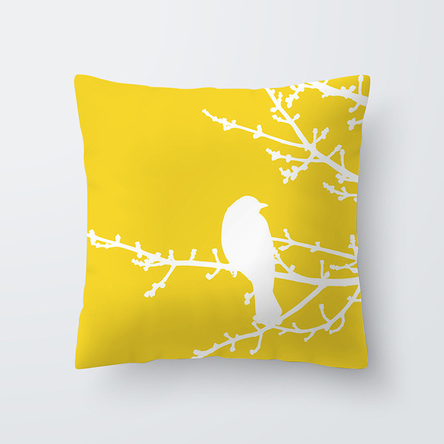 Yellow pillowcse 18