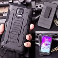 Heavy Duty Armadura À Prova de Choque Caso Capa para o Samsung Galaxy S3 S4 S5 S6 S7 Edge/Note 3 4 5/A5 A7 J5 J7 W/Belt Clip coldre