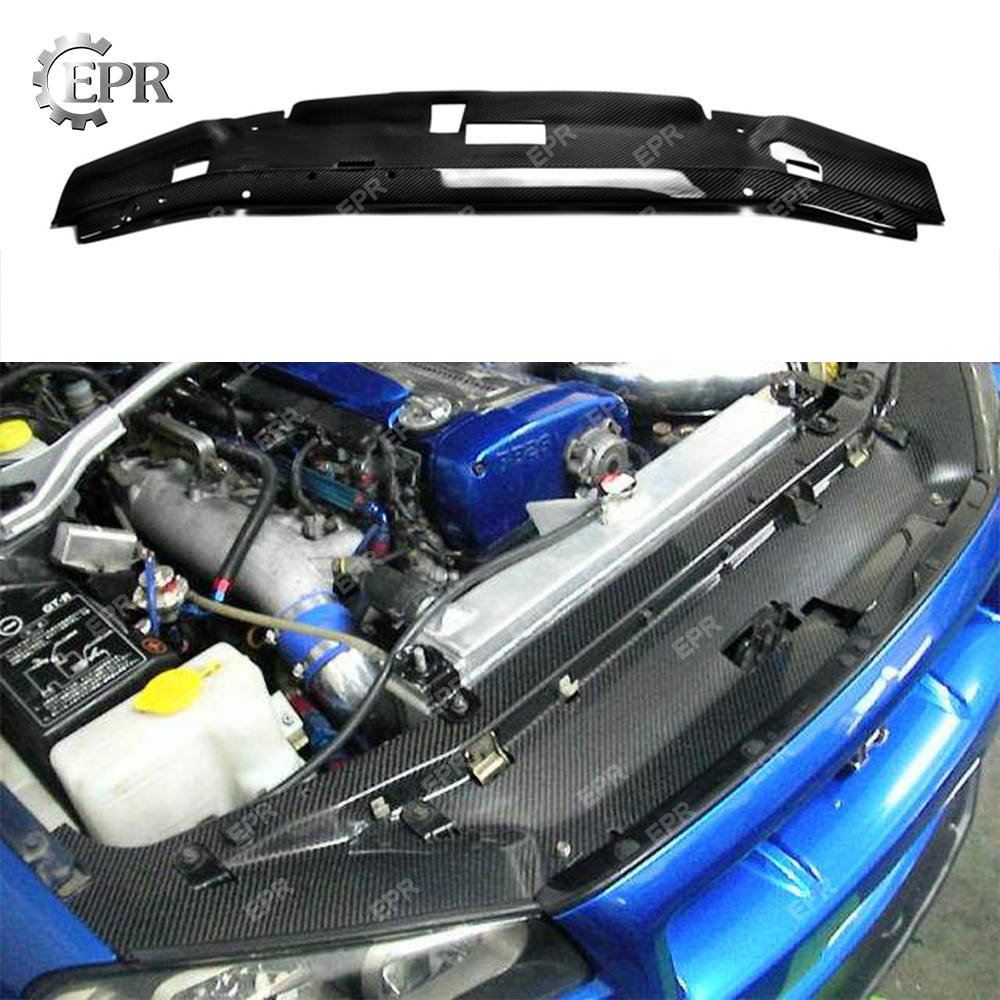 Carbon Kit Fit For 89-94 Nissan Skyline R32 GTR Garage Defend Cooling Panel