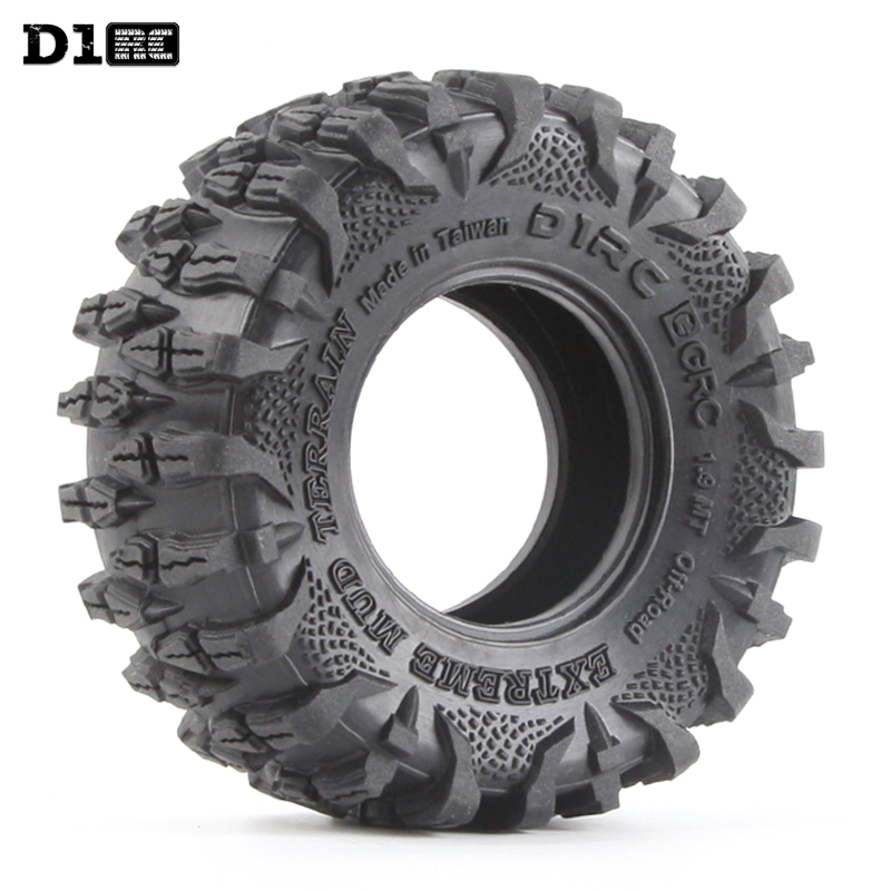 4PCS D1RC 1 10 1 9 Inch Wheel Tires RC Crawler Car Parts External Diameter 108mm