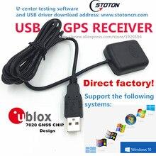 Stoton pc навигации USB модуль приемника gps антенны мышка 0183 NMEA выход USB заменить VK-162 Globalsat BU-353s4 BU353S4