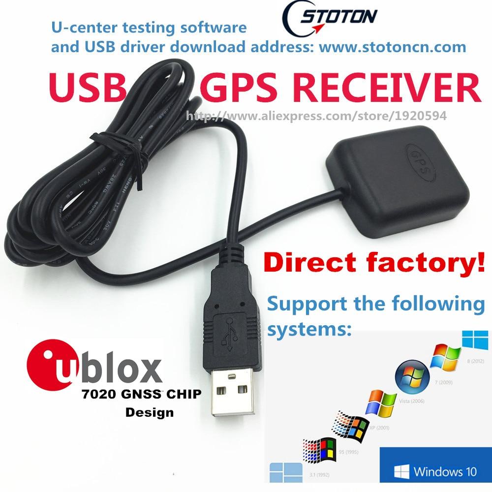 USB GPS Receiver Module Antenna STOTON GMOUSE  Ublox gps chipset 0183 NMEA Output USB Replace VK-162 GlobalSat BU-353s4  BU353S4