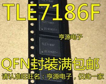Free Shipping TLE7186F IC DRIVER 3PH BRIDGE 48-VQFN 7186 TLE7186 PG-VQFN-48-4 10pcs