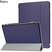 Cover For Huawei MediaPad M3 Lite 10 Case Tri Fold Leather Stand Shell For Huawei MediaPad
