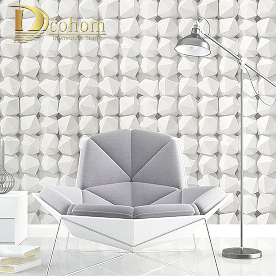 Buy 3d luxury natural grey brick wall for Vinyl wallpaper for walls