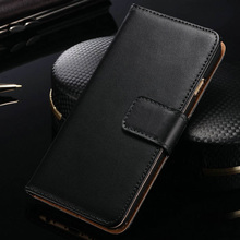 HiLeder Flip Genuine Leather Wallet Case For iPhone 6 6S Plus With Card Slot Kickstand Phone Case For iPhone 6 Plus 6S Cases