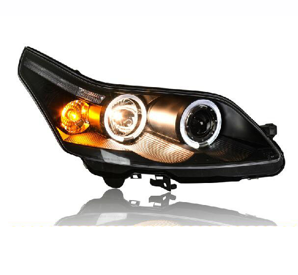 Ownsun New Eagle Eyes LED DRL Bi-xenon Projector Lens Headlights For Citroen C4 2008-2011