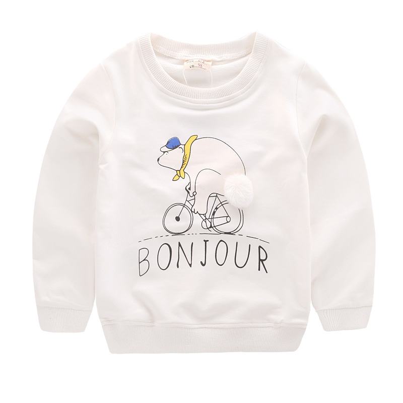 Maggies Walker Spring and autumn baby boys clothes Children cartoon pullover Cotton long sleeve sweatershirts for kids