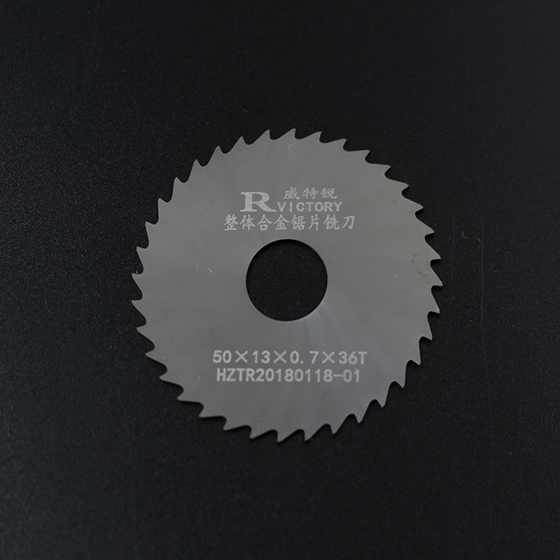 5pcs 50mm Thick 0.5mm To 2mm Saw Blade Solide Carbide Circular Milling Saw Blades CNC Lathe Metal Cutting Tool