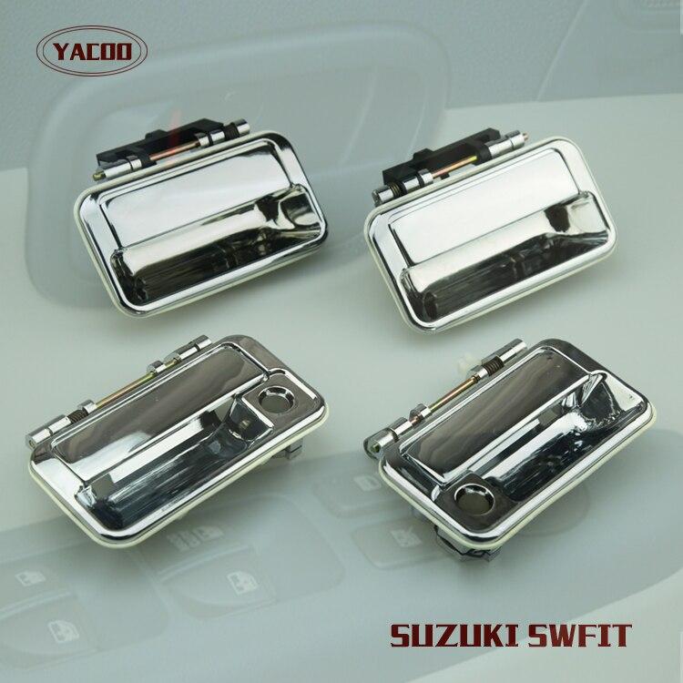 4PCS A CAR SET EXTERIOR DOOR HANDLE FOR SUZUKI SWIFT (METAL HANDLE ...
