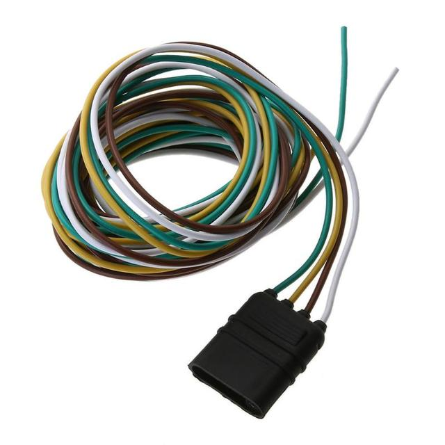 vodool 3m 4pin plug trailer light wiring harness extension cable vodool 3m 4pin plug trailer light wiring harness extension cable wire connector adapter for commercial vehicles