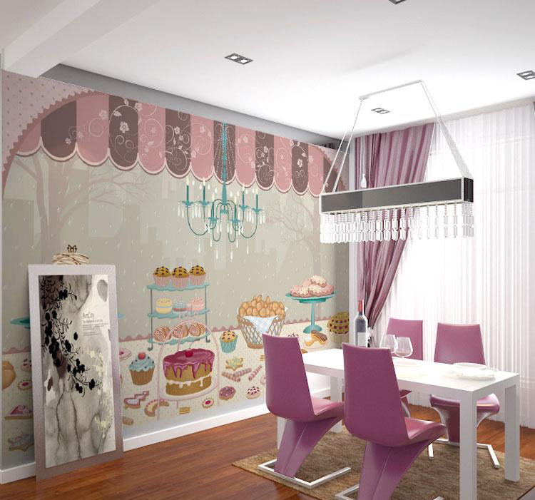 Online get cheap candy wallpapers for Candy wall mural