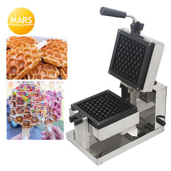 цена на Commercial Use Honeycomb Waffle Pops Maker Belgium Electric Muffin Waffle Cake On A Stick Machine Equipment In Food Machinery