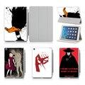 Для iPad 5 6 Воздуха 1 2 Смарт Случае Песок Дизайн обложки Дональд Дак Кулак Печать Pattern Флип Защитный Рукав случае