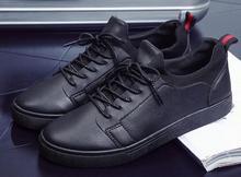 Brand new men 's fashion leather men' s casual shoes janoski