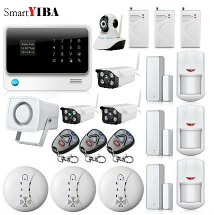 SmartYIBA APP Control WIFI IP Camera For Home Security Network font b Alarm b font Wireless