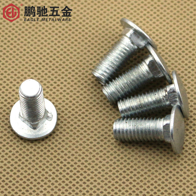 US $21 0 |Carriage bolts / screw bolt angle iron bridge shelf screw screw  M6 * 12/16 M8 * 16/20/25 ใน Carriage bolts / screw bolt angle iron