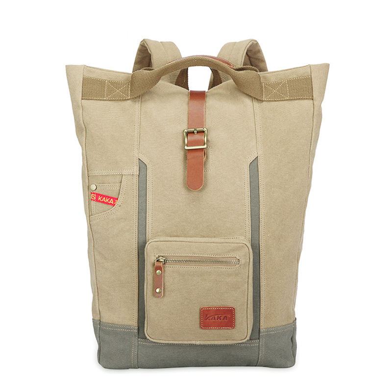 Multifunctional High Quality Canvas Backpack Men Bagpack Vintage Canvas Rucksack Men Back Pack Male Backpack Travel