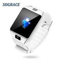 SOGRACE Relógios Inteligentes Inteligentes-Relógio Android Bluetooth Smartwatch Dz09 Disque Chamada Relógio Monitor de Freqüência Cardíaca Relógio Y113