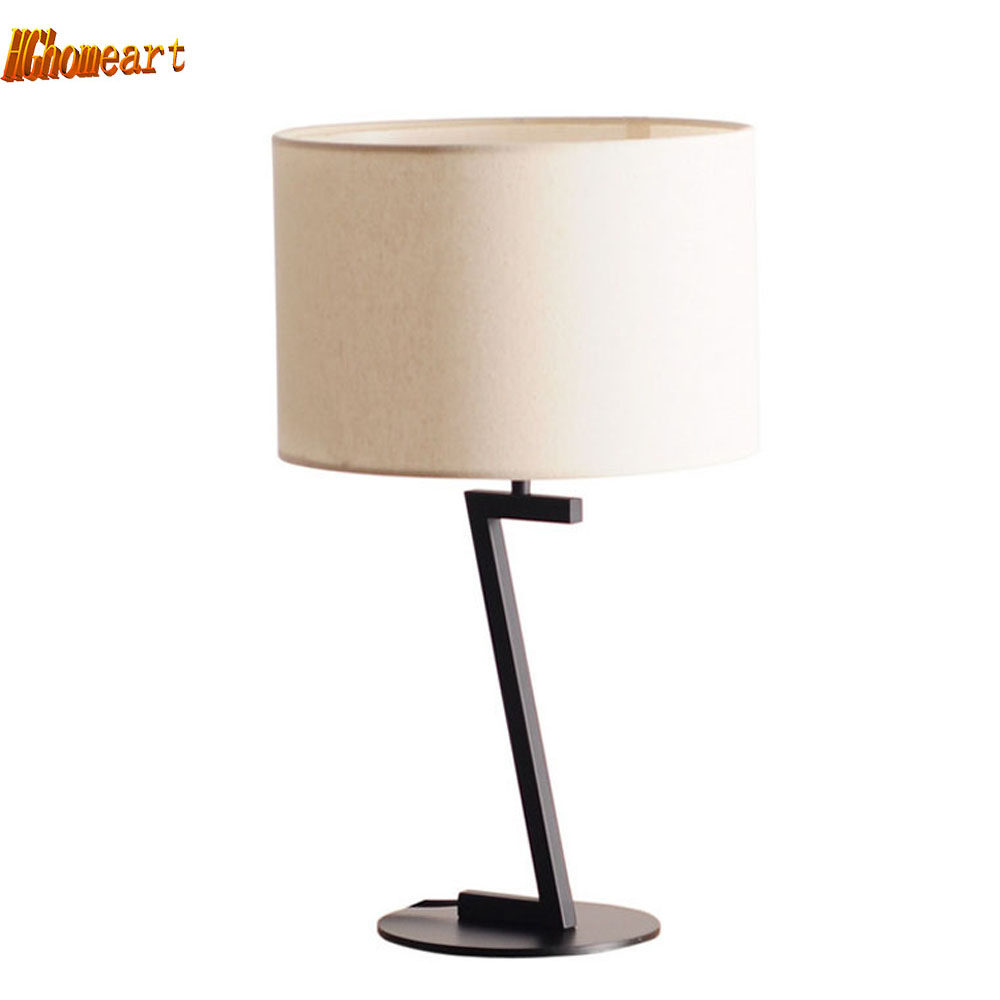 Modern table lamps for living room - Modern Simple Living Room Bedroom Table Lamp New Chinese Scandinavian Personality Creative Art Lighting Fashion Led