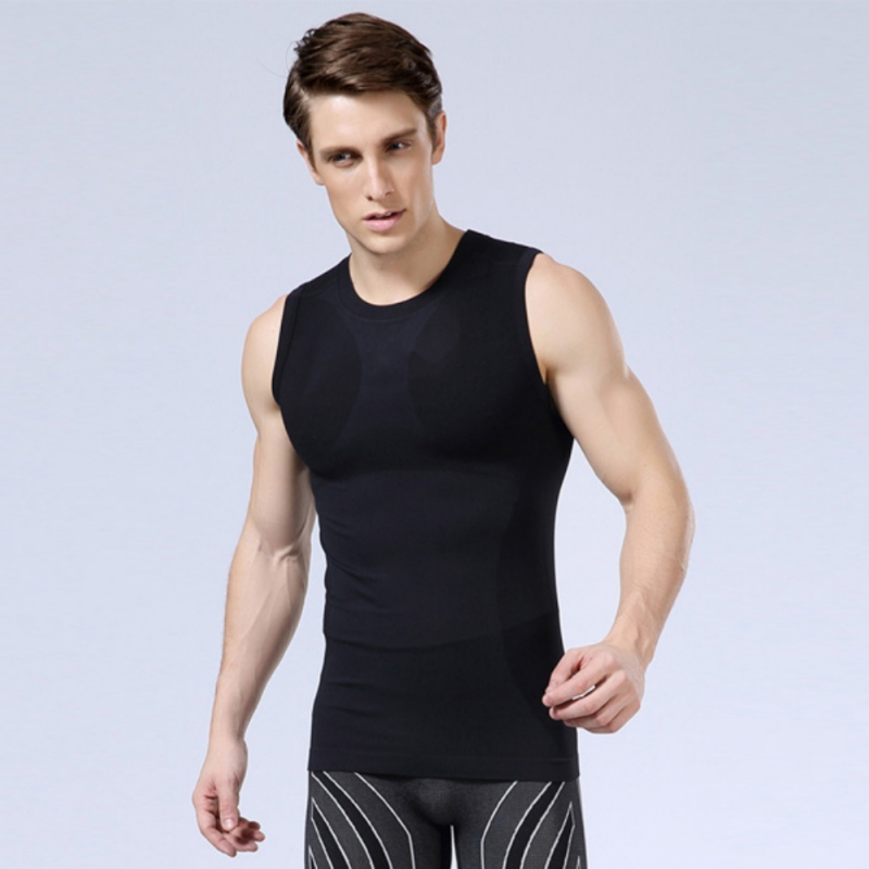 Outdoor Sport Mens Tank Tops Summer Style Quick Dry Fitness Athletic Running Mens Vest Base Layer Sports Vest New Style