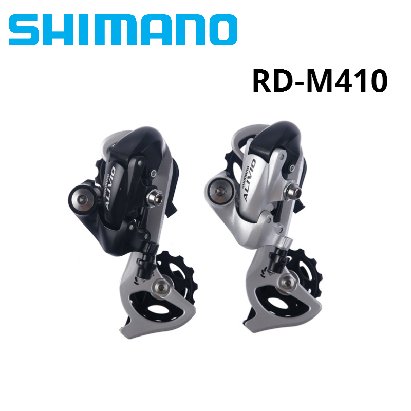 SHIMANO 7 8 Speed Bike Rear Derailleur 7S 8S MTB Bicycle Derailleurs With Sis System ALIVIO RD-M410 Superior Than M310 M360