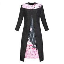 Высокое качество Большой Размеры Платья для женщин для Для женщин мода поддельные Двойка платье жира мм плюс Размеры 6xl Vestidos Sexy v-образным вырезом Женская одежда
