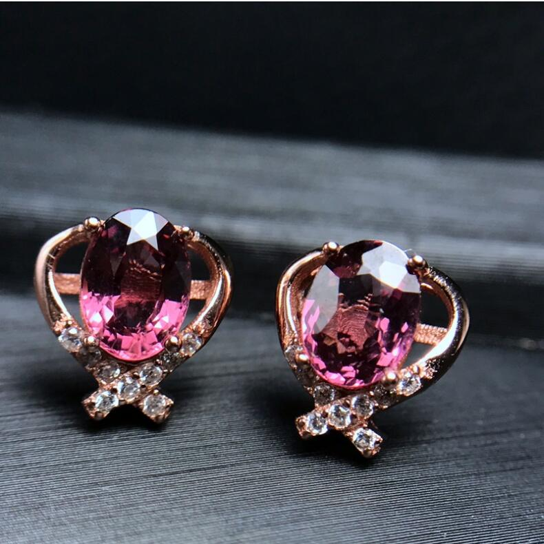 Natural Garnet earring Free shipping Natural real garnet 925 sterling silver earrings 5*7mm star style garnet stud earring free shipping natural garnet 925 sterling silver fine gems jewerly
