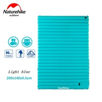 Naturehike utralight outdoor camping mat tpu opblaasbare air matras dubbele 2 persoon draagbare slaapmatje tent luchtbed