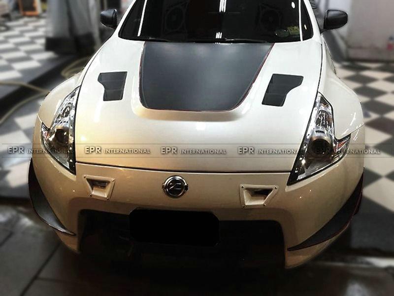 370Z Z34 Front Bumper duct set (1)_1
