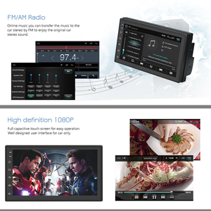 "Image 4 - Hikity Universal Android 7 ""2 DinรถมัลติมีเดียGPSวิทยุสำหรับNissan TOYOTA Kia RAV4 Honda VW Hyundai"