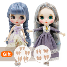 Dbs bjd氷ブライス人形ヌード工場通常と共同体と手セットabファッションガールドール特別価格