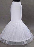 Wholesale Mermaid Petticoat 1 Hoop Bone Elastic Wedding Dress Crinoline Trumpet 2015 Bridal Petticoat Cheap