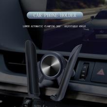 Автомобильный держатель для телефона 360 Вращающийся держатель для телефона в Автомобиле вентиляционное крепление Автомобильный держатель Подставка для iPhone 7 8 XS Max Универсальный