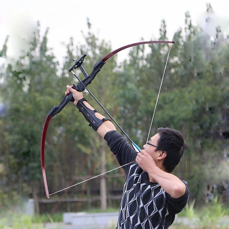 30-40 lbs arc classique en fibre de verre de carbone arc de tir à l'arc pour la pratique en plein air chasse tir arc HW116