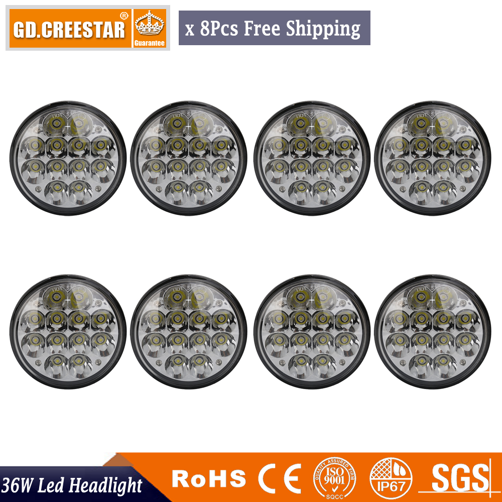 Back To Search Resultshome Creative Chrome 12v 24v 4x6 Inch Led Headlight 45w Sealed Beam Led Work Light With Angle Eye H4 Plug Replacement For Motorcycle Headlight