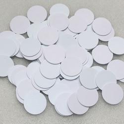 25mm durchmesser TI2048 PVC münze tag karten RFID smart passive karte 13,56 MHz RF tags ISO15693