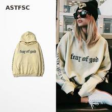 Fear Of God Hoodie Purpose Tour Sweatshirt Gorilla Wear Hiphop Sweatshirt Skateboard Kanye West Tracksuit Raf Simons Kpop Felpe