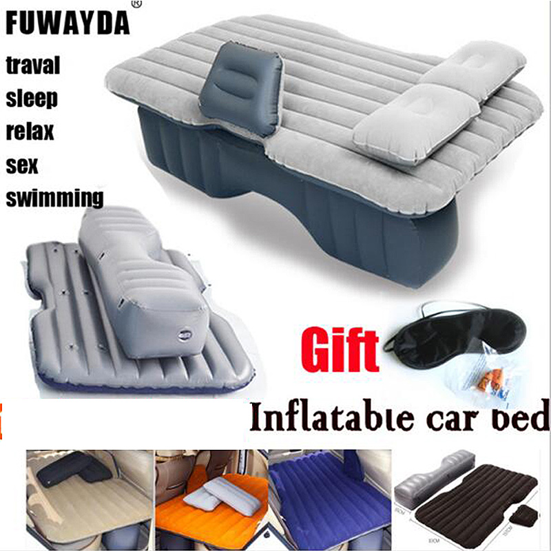 Fuwayda waterproof hot sale Universal Car Travel Inflatable Mattress Car Inflatable Bed Air Bed Cushion Thickening flocking car inflatable mattress car shock bed on board flocking inflatable bed separate type air cushion bed car split car bed