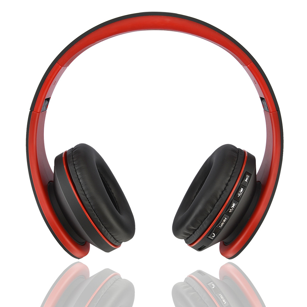 16ad6e4bef1 Detail Feedback Questions about Andoer LH 811 4 in 1 Wireless Headset V4.1  EDR Bluetooth Headphone Earphone Wired Earphone with Mic MP3 Player TF  Music FM ...