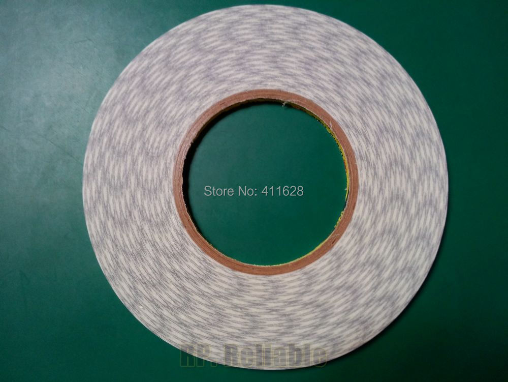 Original 2mm*50 meters 3M Double Sided Tape Adhesive for iphone 3G 4G 5, Android Phone Touch Screen LCD Display LED Repair