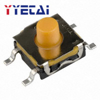 YongYeTai KSC421G Patch 6.2*6.2*5.2 Tact Switch Soft Button Switch 160g Velocity Free Shipping