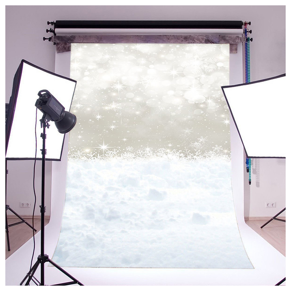Thin Vinyl Studio Christmas Backdrop CP Photography Prop Snow Photo Background 5x7FT WSD115 Colour Name: 5X7FT WSD115 shanny autumn backdrop vinyl photography backdrop prop custom studio backgrounds njy33