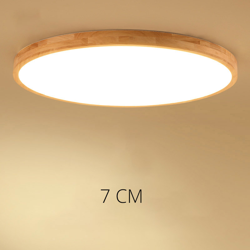 DX Wooden Ceiling Light LED Ceiling Lights Living Room Chandelier Ceiling LED Ceiling Light For Living Room Plafon LED free shipping best selling living room led ceiling light 200mm dia led chandelier