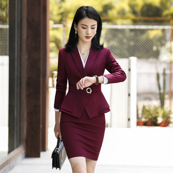 Womens Formal Two-Piece Suits