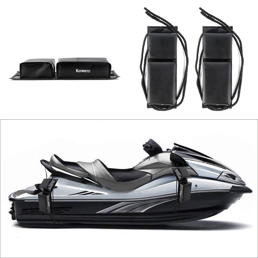 Jet Ski Fender Marine Black Side Mooring Bumper Protectio Universal Personal Watercraft Boat PWC Sea Doo For Suzuki For Yamaha
