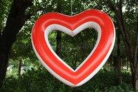 Darmowa wysyłka 1.2 m New fashion led nadmuchiwane serce helem balonu dekoracje ślubne