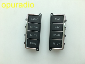 VW DVD PLAYER Panel Plastic Button (Panel keys) for VW RNS510 Skoda Columbus RNS510 sat nav navigation audio systems(China)