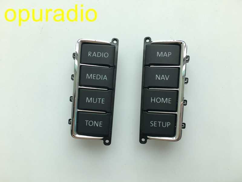 VW DVD-SPELER Panel Plastic Knop (Panel toetsen) voor VW RNS510 Skoda Columbus RNS510 sat nav navigatie audio systemen