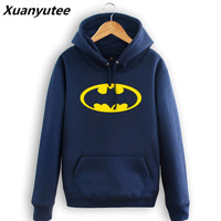 The Dark Knight Batman Printed Men Womens Hoodie Fashion Style Band Hooded S 3XLHoodie tracksuit pullover moleton masculine top